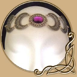 Crescent Salutation Circlet